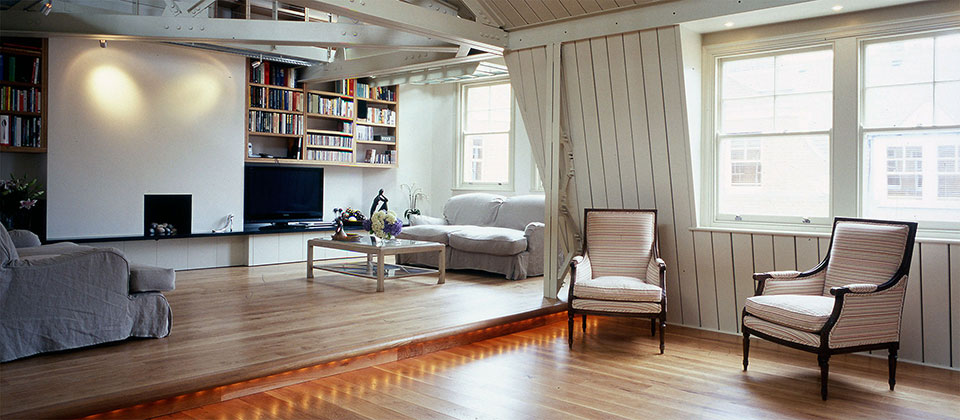 chelsea penthouse interior